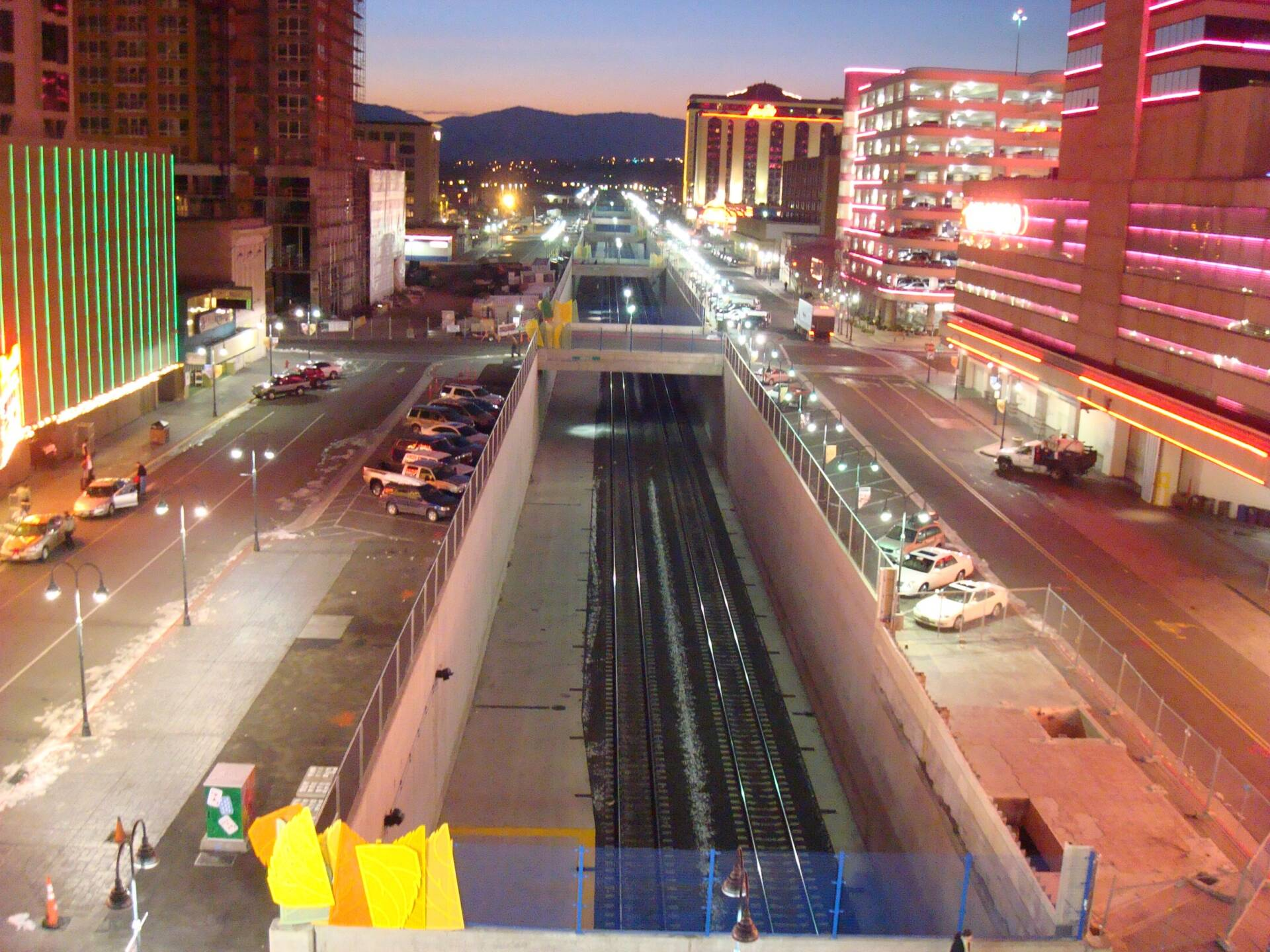 Reno Railroad Corridor