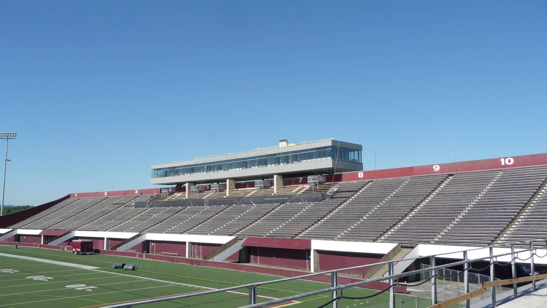 UMass Amherst Football Performance Center