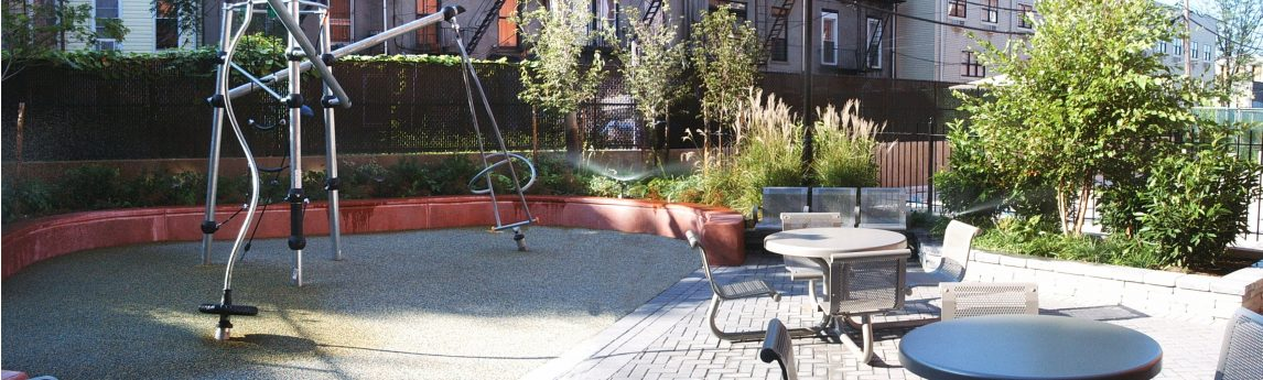 NV5 - Myrtle Avenue Apartments Courtyard