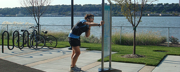 Manhattan Waterfront Greenway Wayfinding Signage Kiosks