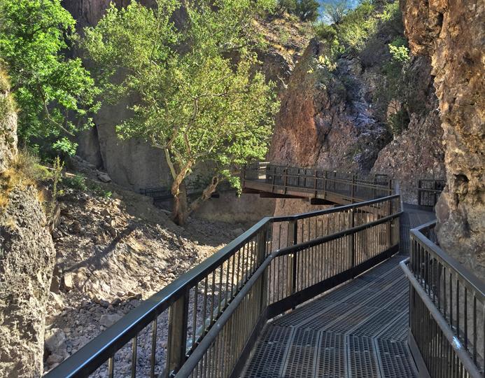 Gila Catwalk Trail Reconstruction