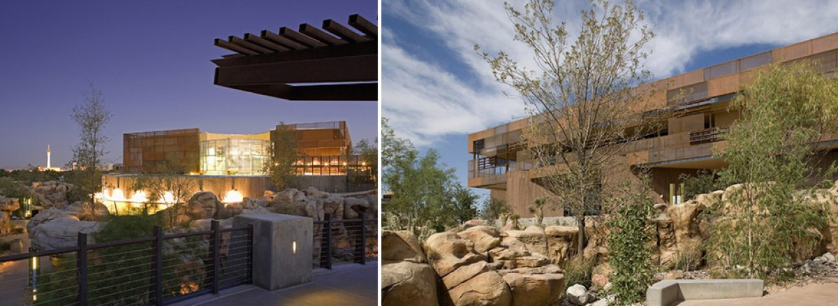 NV5 - Las Vegas Springs Preserve Visitor's Center - MEP Engineering