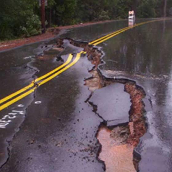 Allison Ranch Road Landslide Mitigation