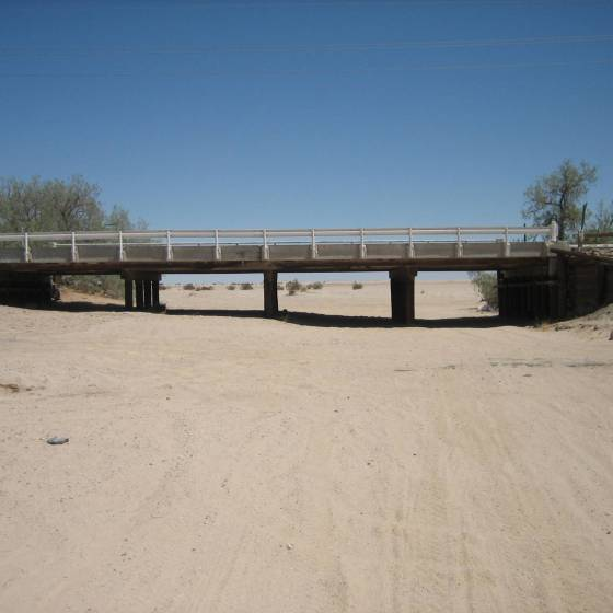 Sandy & Gypsum Ditch Bridges for Wind Energy Project