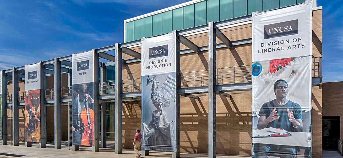 UNC School of the Arts Film Production Design Facility