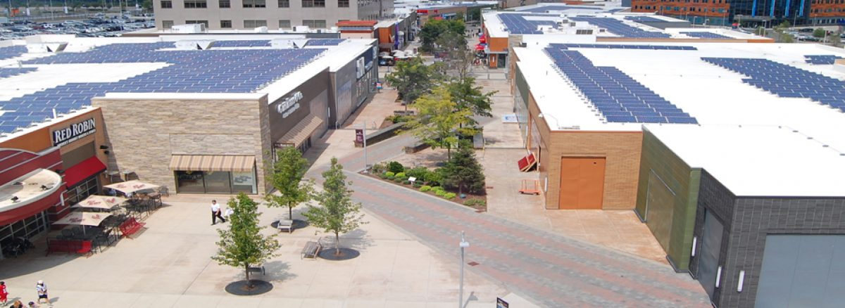 NV5 - Patriot Place Roof-Mounted Solar Array
