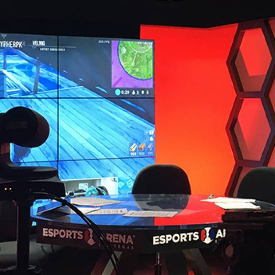 Luxor Hotel & Casino Allied eSports Gaming Arena