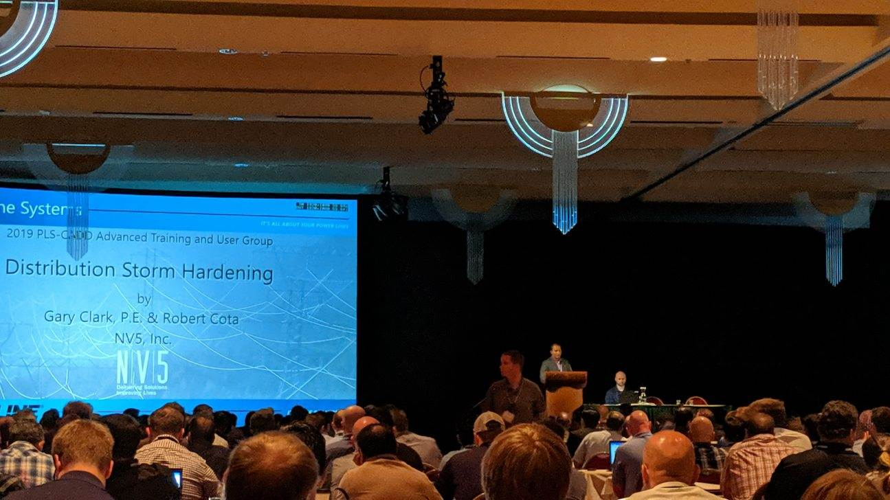 NV5 Presented at Power Line Systems' 2019 PLS-CADD Advanced Training