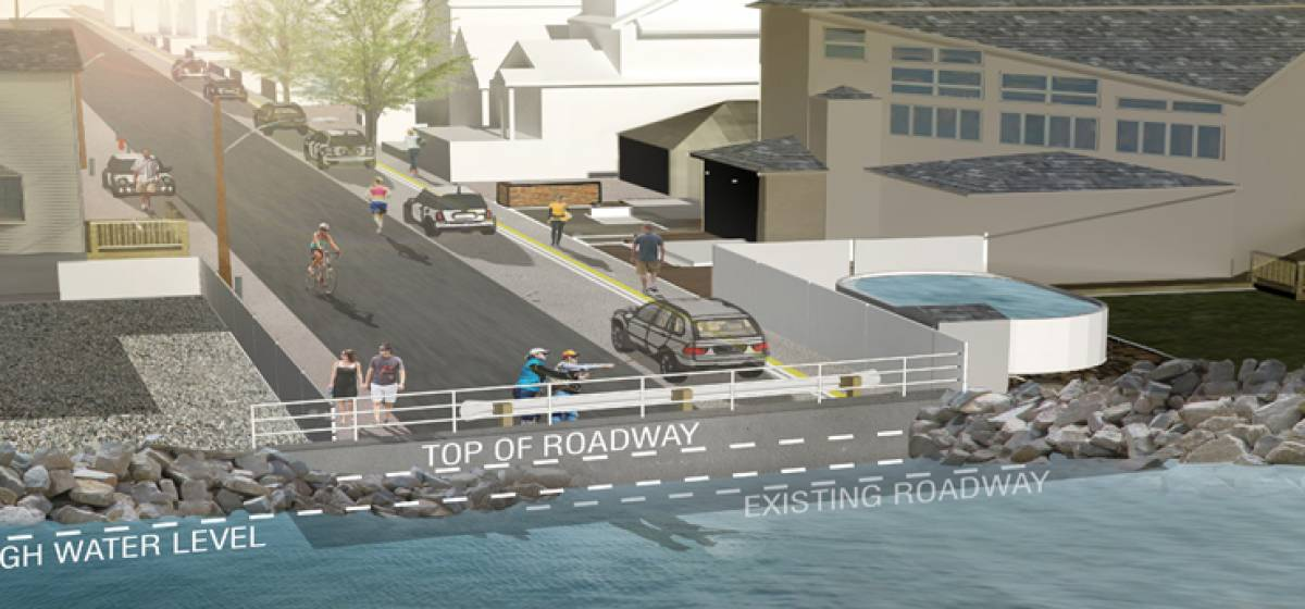 Reconstruction of Broad Channel