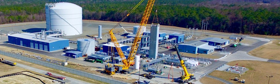 North Carolina Natural Gas Liquefier