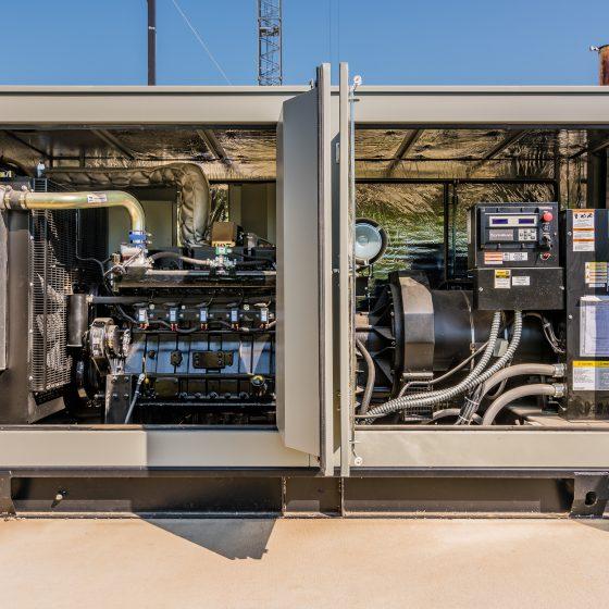 Emergency Backup Generators for University of Iowa's Children's Hospital